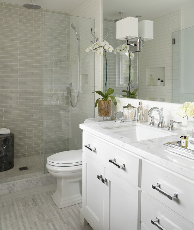 Finished Bathroom - Urrutia design